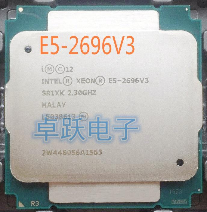E5-2696 V3 Original Intel Xeon E5-2696V3 2.30GHz 18-core 45MB E5 2696 V3 LGA2011-3 E5 2696V3 Processor better than E5 2683 V3