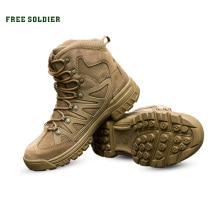 FREE SOLDIER Outdoor Sports Tactical Men Boots,Hiking Shoes For Mountain,Shoes For Camping,Climbing
