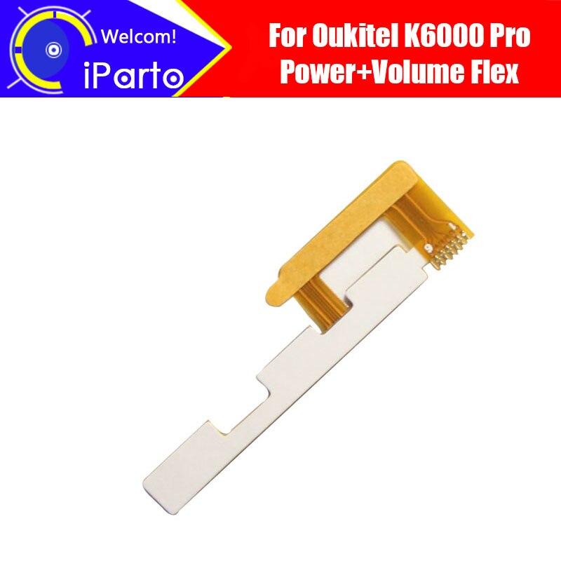 """Гибкий кабель 5,5 """"Oukitel K6000 Pro, 100% оригинальная новая кнопка увеличения/понижения громкости, аксессуары для ремонта FPC для K6000 Pro."""