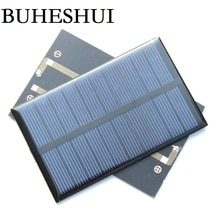 BUHESHUI 1.2W 5V Mini Solar Panel Solar Cell DIY Soar Charger Polycrystalline Education 110*69MM 50pcs Wholesale Free Shipping