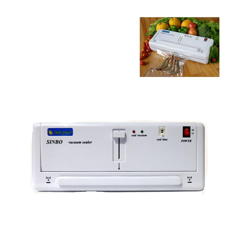 Fast Shipping!Giving quick-wear part220V/110V Household Food Vacuum Sealer Machine hand Plastic Bag heat Sealing Machine DZ-280