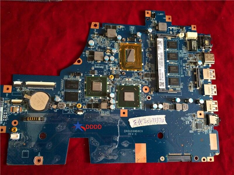 الأصلي A1946150A لسوني Vaio SVF15AA1QM اللوحة الأم مع وحدة المعالجة المركزية i5-3337U DA0GD6MB8E0 اختبارها بالكامل