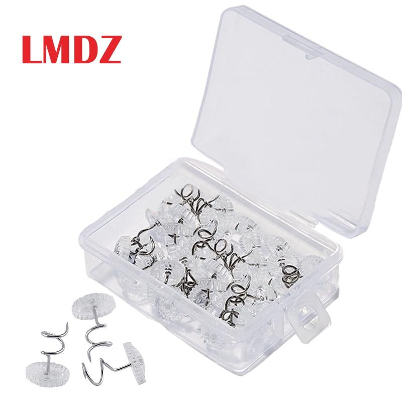 Штифты LMDZ из прозрачной ткани для закручивания кушетки, для автомобилей, стульев, диванов вкладышей для ремонта, свободные штифты для драпи...