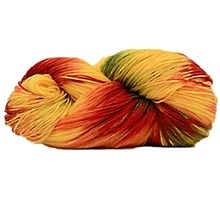 Mix-Colored Knitting Crocheting Thread Hand Knitting Super Soft Acrylic Anti-Pilling Fibre Dyed Yarn
