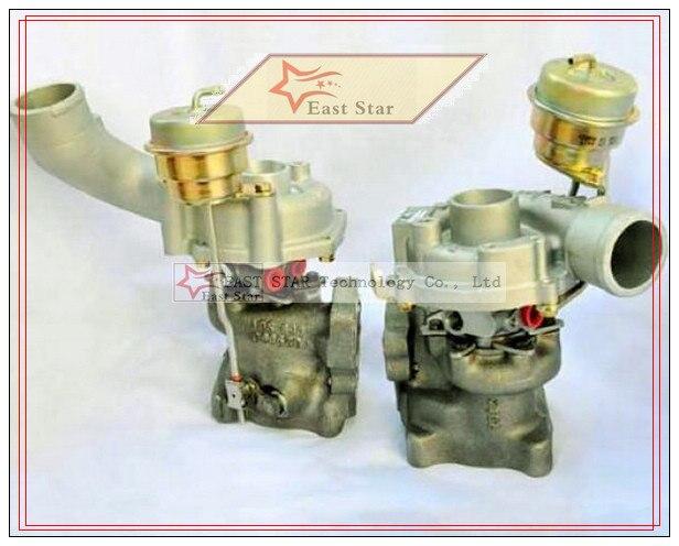 K04-025 K04-026 K04 078145701M 078145703M 53049880025 + 53049880026 gemelos TURBO AUDI RS4 Turbo Quattro 2000-05 de la Asociación AZR 2.7L P