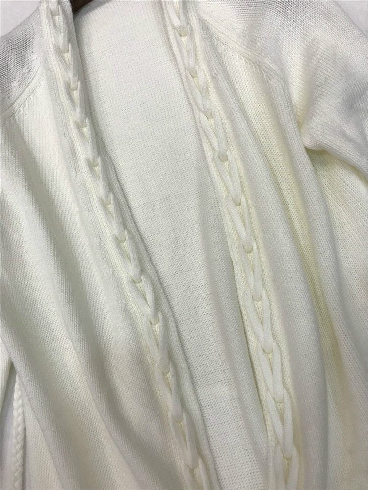 Cardigan Feminino Wool Hot Sale Women Sweaters And 2020 Winter New Knit Velvet Thread Side Double Pocket Long Sweater enlarge