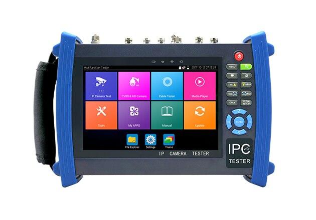 IPC-8600plus series IP CCTV tester monitor ip analog AHD TVI CVI SDI camera tester H.265 4K 4MP 5MP ONVIF wifi POE 12V enlarge
