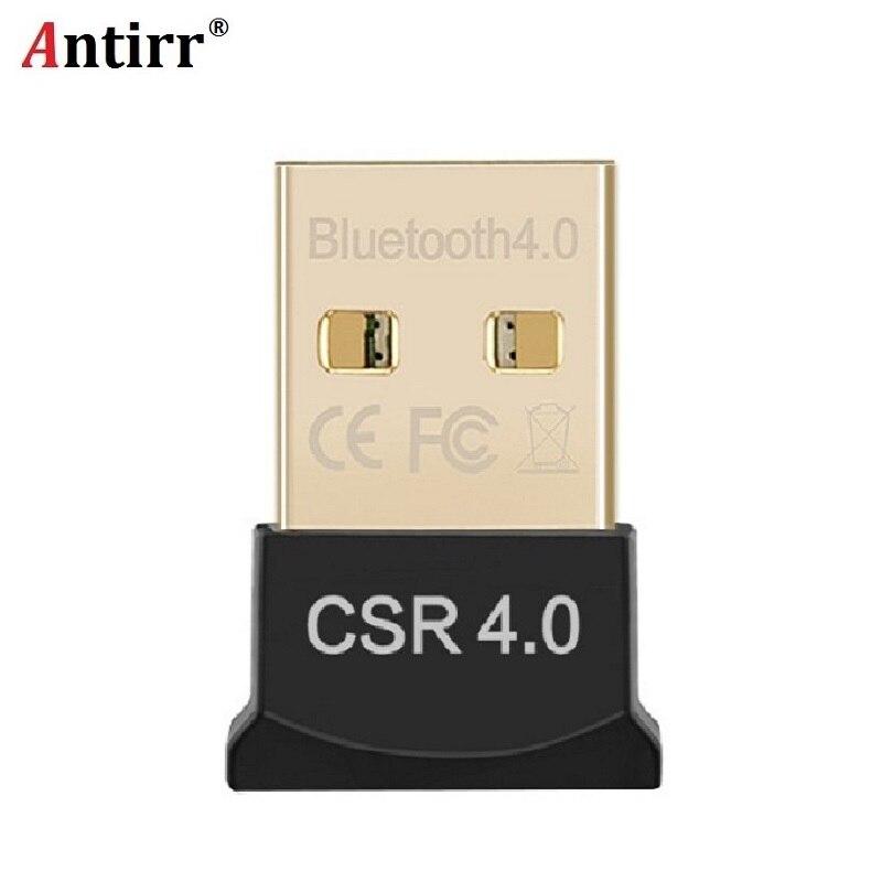Mini USB Adaptador Bluetooth CSR V4.0 Dual Mode Sem Fio Dongle Bluetooth 4.0 Transmissor Para Windows 10 8 Win Vista XP 7 32/64Bit