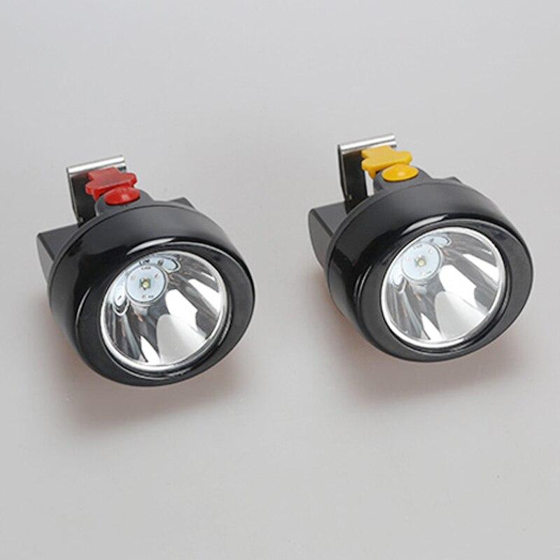 12 PCS/LOT  KL2.8LM(A) LED Miner Cap Lamp Mining Light Lithium Ion Headlamp enlarge