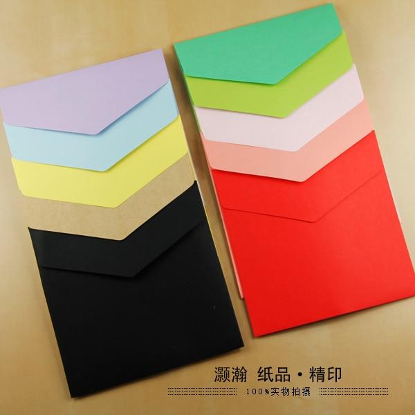 Platz Umschläge Papier Umschläge 15.8*15,8 Cm Farbe Umschläge 100PCS