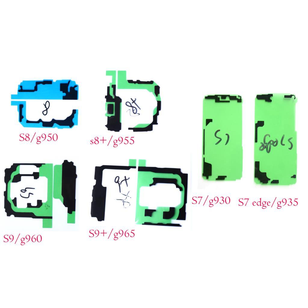 2x cinta adhesiva impermeable sellada para Samsung Galaxy s7 edge S8 S9 Plus + G930 g935 g950 g955 g60 g965