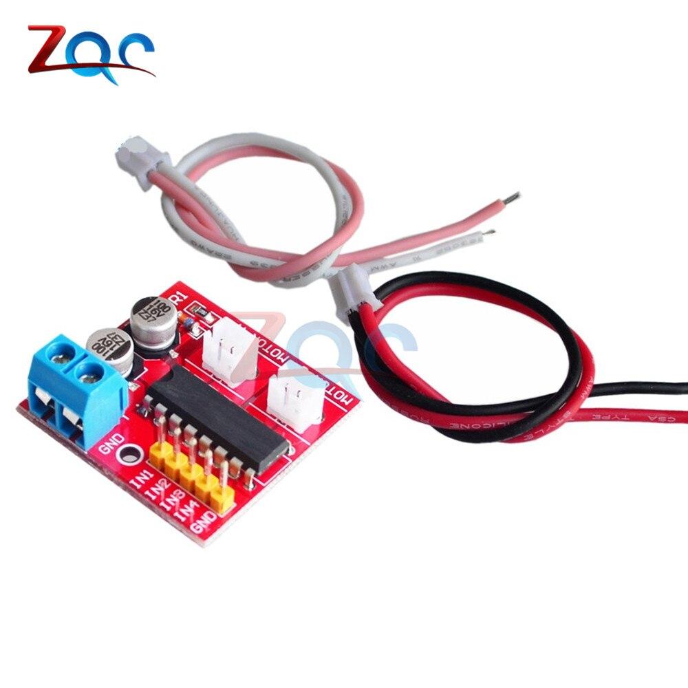 Kit de 2,5 a, controlador de Motor DC de doble canal, Mini módulo Beyond L298N PWM, controlador de velocidad