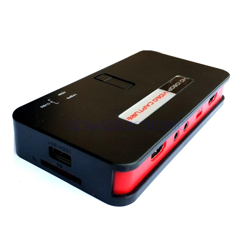 محول vhs إلى الكمبيوتر الشخصي ، تحويل HDMI/YPbPr مباشرة إلى بطاقة SD TF U-Driver ، لا يلزم الكمبيوتر ، شحن مجاني ، جديد لعام 2017