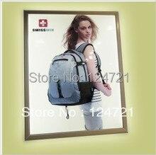Aluminum Profile  Poster Frames  LED Lightbox ,Wall Mount LED Super Slim Light Box a1,Advertisment Sign Box