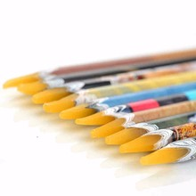 20 pièces Nail Art auto-adhésif strass gemmes forage cueillette Picker conseils outils Crayon cire pointage stylo Crayon manucure