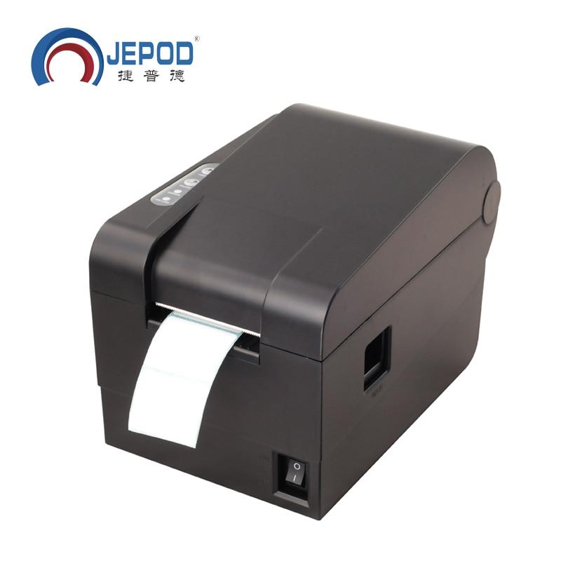 XP-235B impresora de etiquetas térmica Original nueva de 58mm impresora de etiquetas Stock precio de liquidación impresoras de etiquetas de código de barras térmica Driect