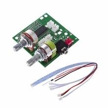 5V 20W 2.1 double canal 3D Surround numérique stéréo classe D amplificateur carte amplificateur livraison directe