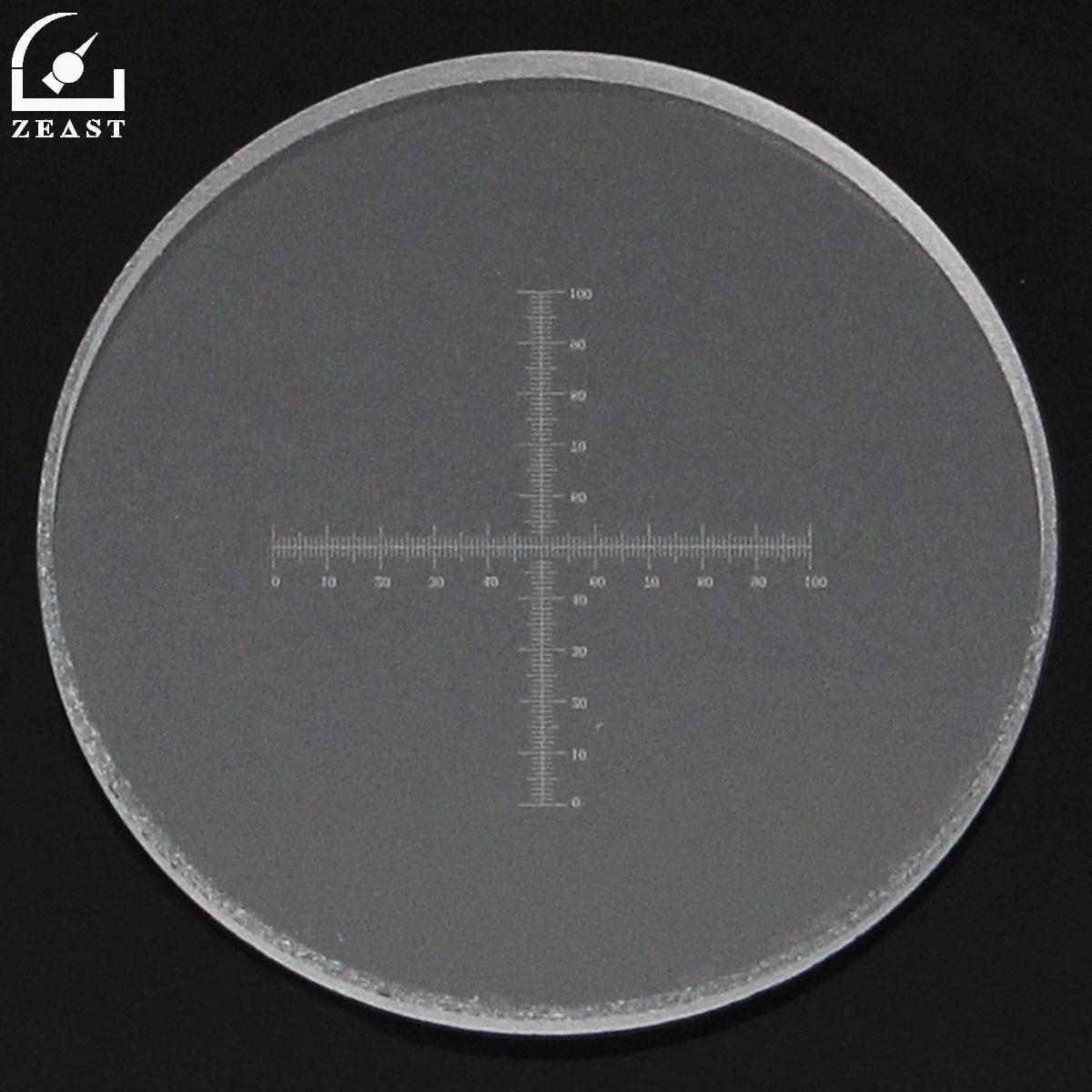 Шкала микроскопа 10 мм/100 0,1 мм C7 объектив микрометр калибровки слайд