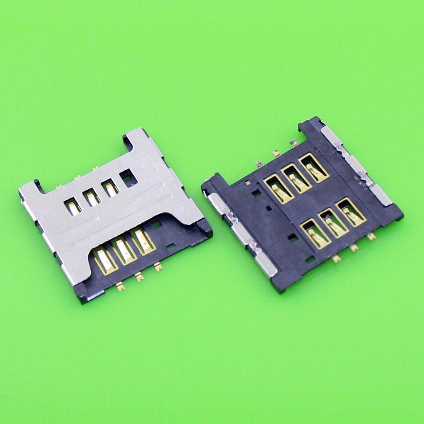 1 pieza de reemplazo para Samsung I9000 I9220 N7000 S5690 W689 S5360 S5570 sim tarjeta bandeja soporte de ranura conector KA-033