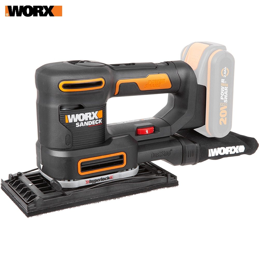Amoladora Worx WX820.9, amoladora, herramientas eléctricas, acumulador de Vibrodrivein