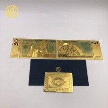 10 pçs/lote 50 zlote ouro polonês bansação pope john paul ii para coleção 999 ouro. Polímero frete grátis,