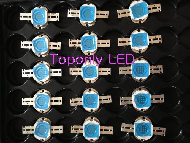 10 Вт США Bridgelux чипы супер яркий королевский синий цвет Высокая мощность