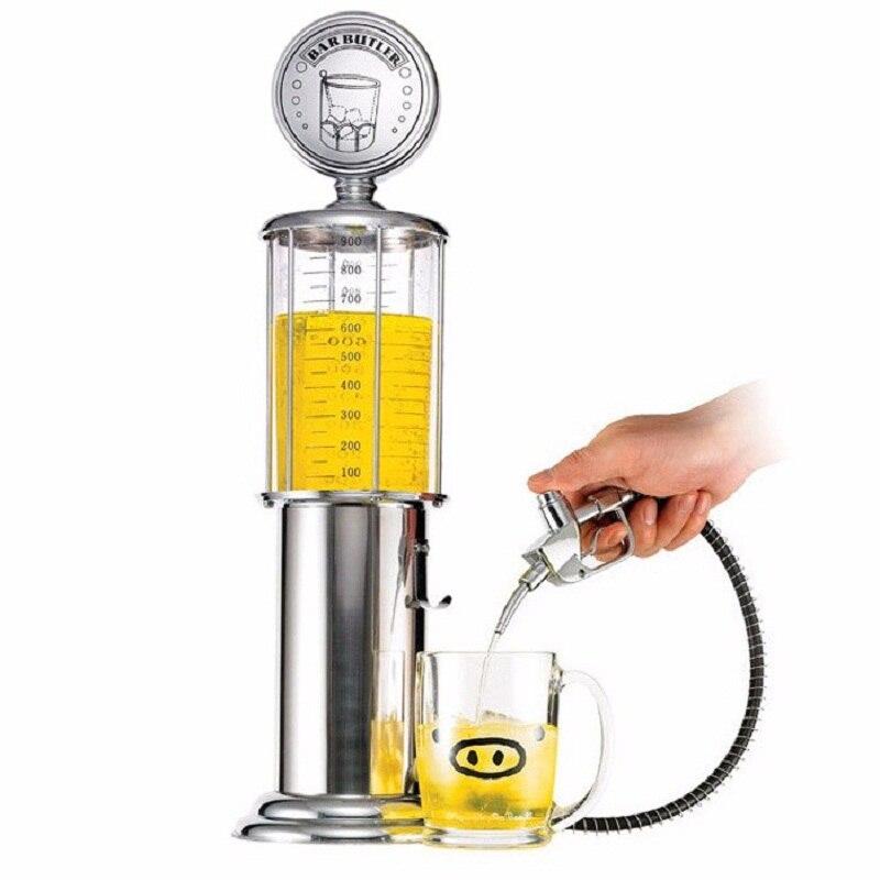 חדש מיני באר Dispenser מכונת שתיית כלי כפול אקדח משאבת עם שקוף שכבה עיצוב גז תחנת בר לשתייה יין