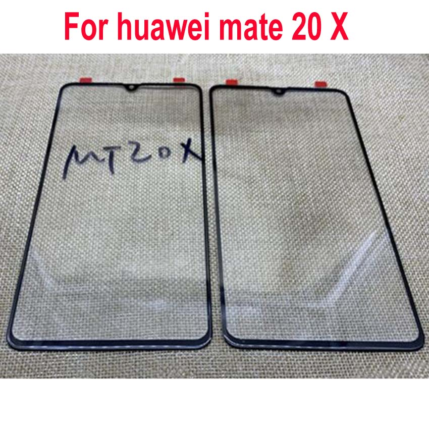 Top Quality New Outer Glass Lens LCD Front Panel Touch Screen For Huawei mate 20 X 20X Mate20X Exter