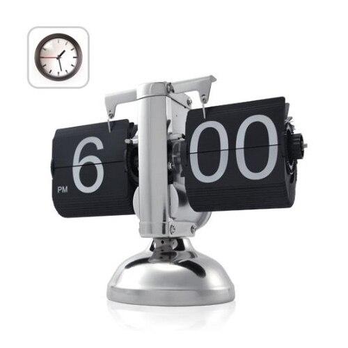Reloj Retro abatible hacia abajo Niceeshop-engranaje interno operado