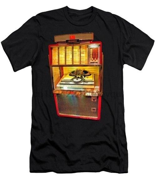 Vintage Jukebox Tee Men's T Shirt women tshirt
