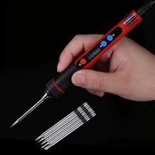 5V 10W Portable USB fer à souder LCD numérique température réglable pistolet à souder sac soudure reprise réparation outil