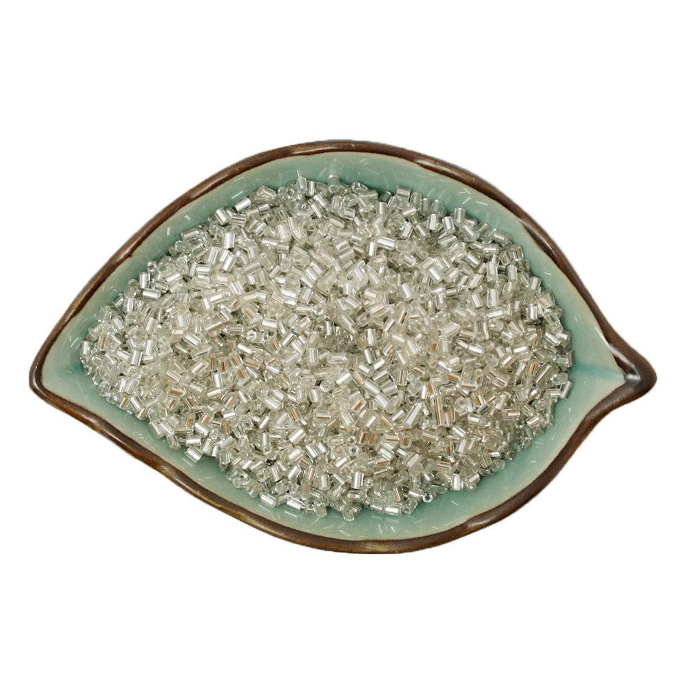 2*3 Missangas dois milímetros DIY Solto Spacer Vidro Mini missangas Checa Branco Beads para Fazer Jóias, 1800 pçs/lote. BBG05-01WH