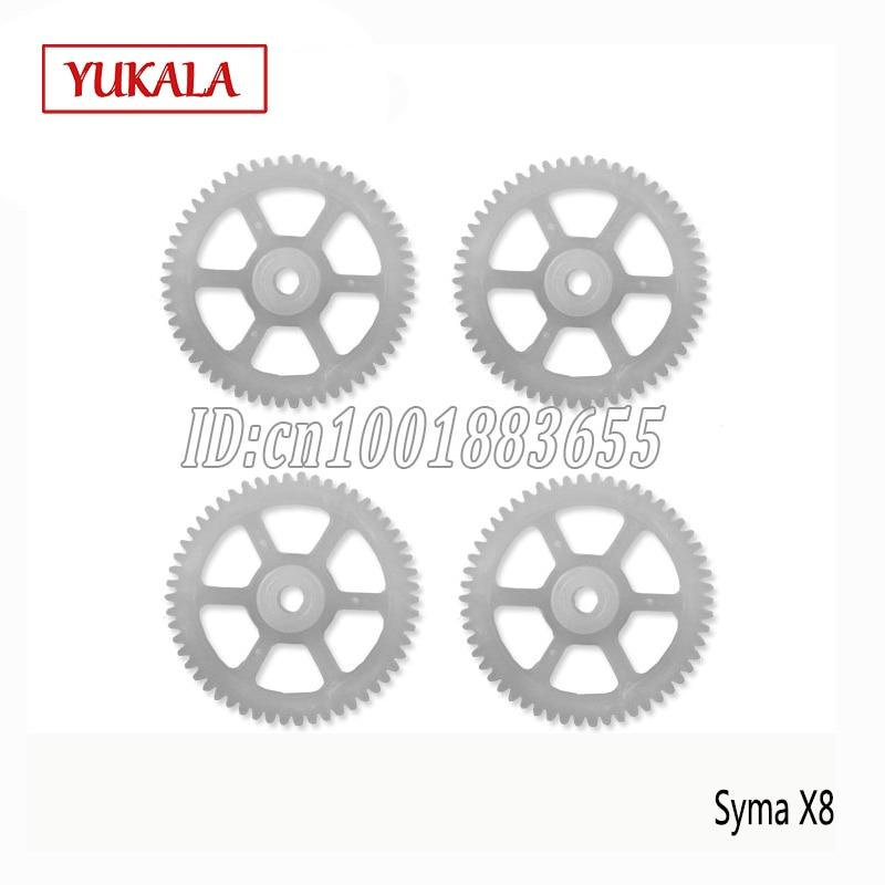 Syma X8A X8C X8W X8G piezas DE engranaje 4CH RC 2,4G OVNI...