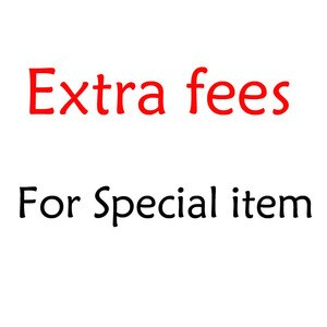 Extra Fees for some special items