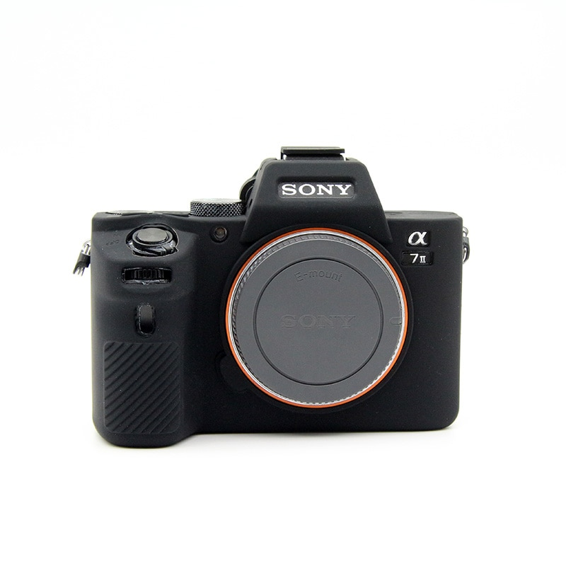 Funda protectora de silicona para Sony Alpha A6000 A6300 con lente de...