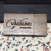 New Wooden Walnut Square USB 3.0 memory flash stick pen drive