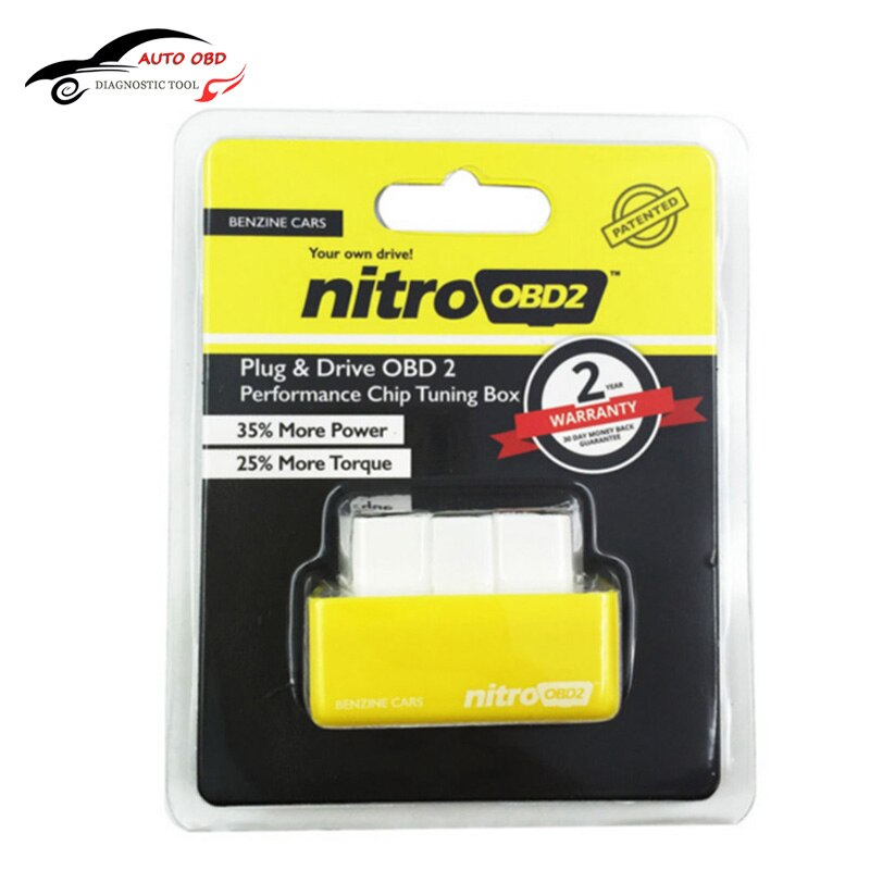 Super ECO NitroOBD2 Benzin Benzine Autos Chip Tuning Box Mehr Leistung drehmoment Nitro Obd-stecker & Drive Nitro OBD2 OBD 2 Autos Diesel