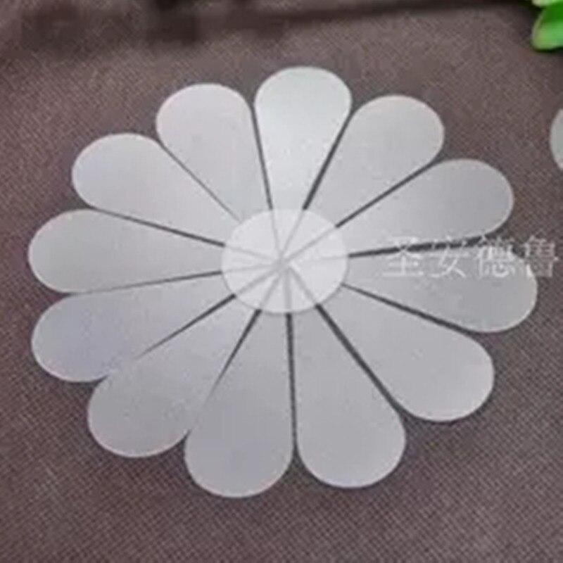 Пластиковые шаблоны для рукоделия с цветами и лепестками