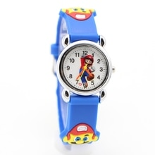 New Arrival High Quality 3D Cartoon Super Doll Kids Watch Children Girls Boys Students Quartz Superm