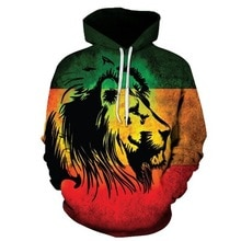 2020 neue Mode Männer/Frauen 3d Sweatshirts Drucken Goldene Blitz Lion Mit Kapuze Hoodies Dünne Hoody Trainingsanzüge Tops Trainingsanzüge
