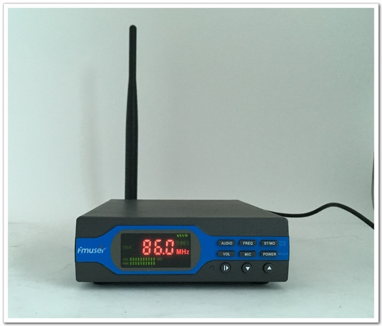 FU-X01CK 1W FM Transmitter+Power supply+Antenna Package (8G TF Card+Bluetooth+car adapter))