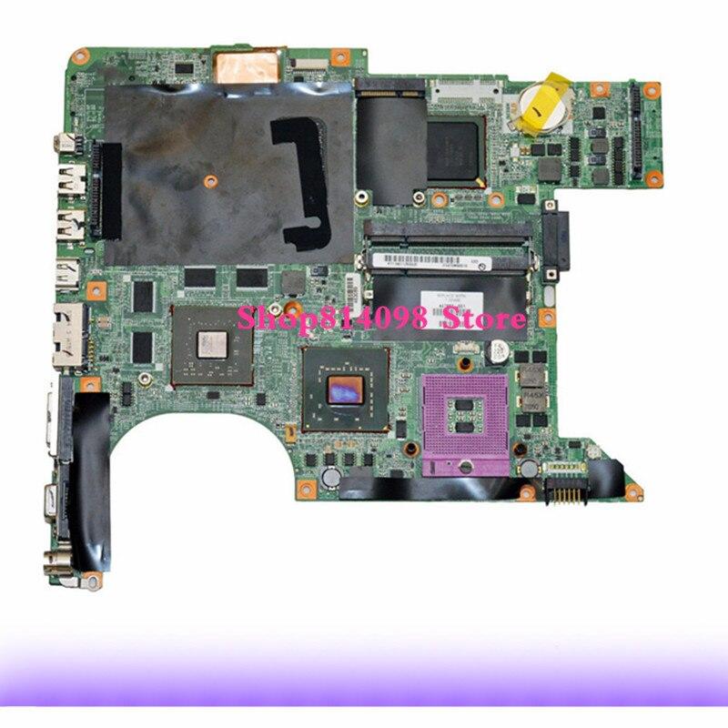 KEFU 447983-001 Apto Para HP DV9000 DV9500 DV9700 DV9800 Laptop Motherboard + CPU LIVRE s478 DDR2 mainboard Totalmente trabalhando