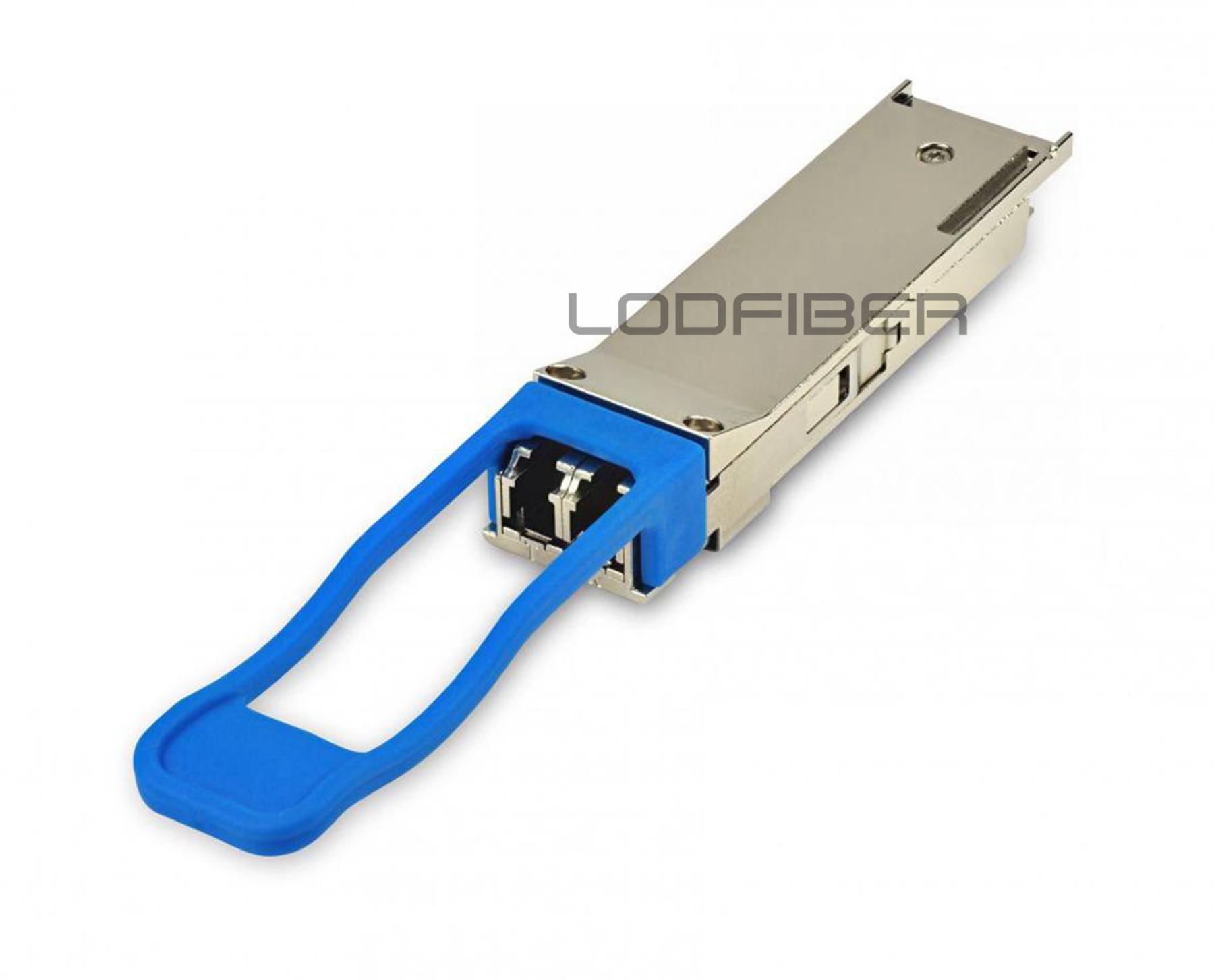LODFIBER JNP-QSFP-40GE-LR4 J-u-n-i-p-e-r Networks Compatible 40GBASE-LR4 QSFP+ 1310nm 10km LC Transceiver