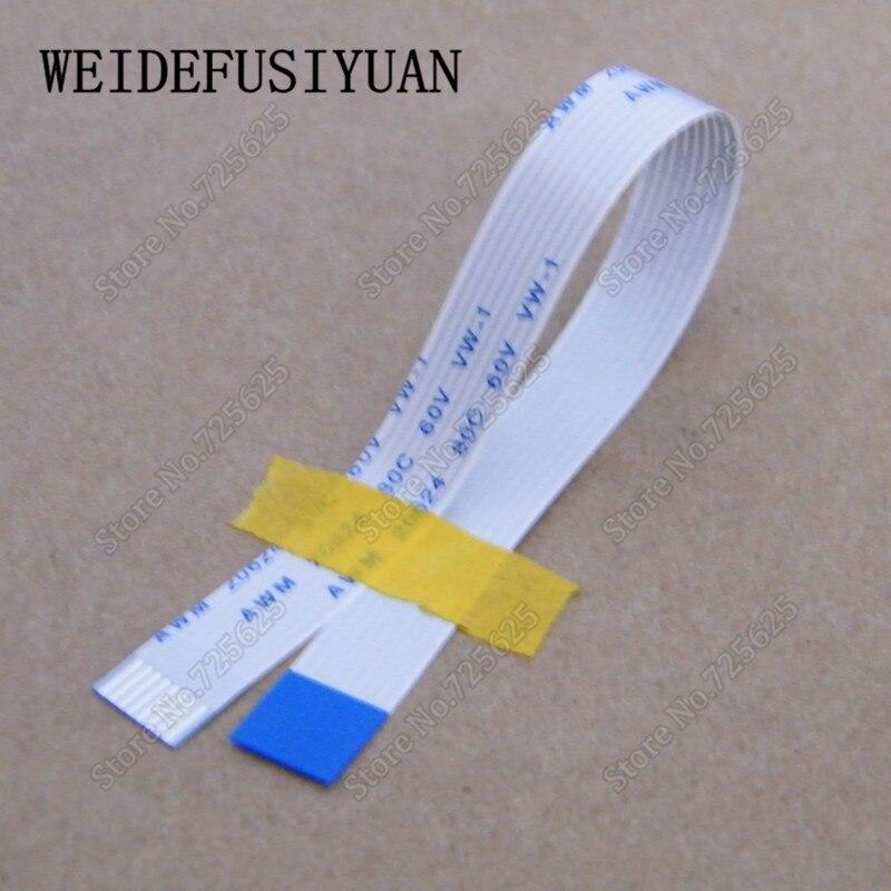 Cable plano flexible FFC/cinta fpc para Cable de cinta de botón de interruptor de encendido DV6T HP DV6-6000 de 8 pines 15cm
