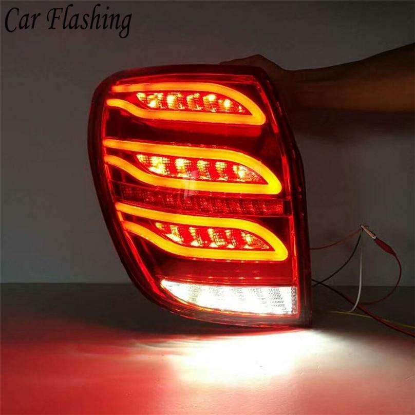 Car Flashing 1SET For Chevrolet Captiva 2008 - 2017 LED rear bumper lights brake tail light DRL styling Reversing Signal LAMP