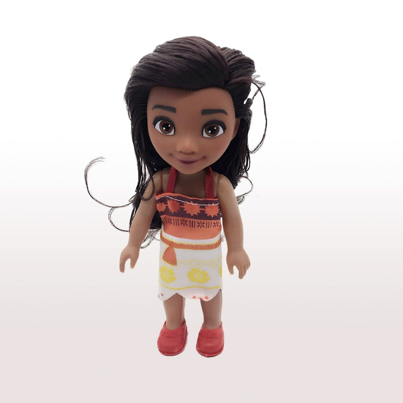 1 шт. 16 см Моана принцесса Легенда Мауи цыпленок Handan ПВХ персонаж Куклы Фигурки игрушки девочки дети Рождество подарок на день рождения игрушки