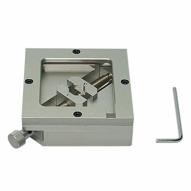 Universal 90mm Metal BGA Stencil Template Holder Foxture Jig PCB Chip BGA reballing Station tool for bga rework solder station enlarge