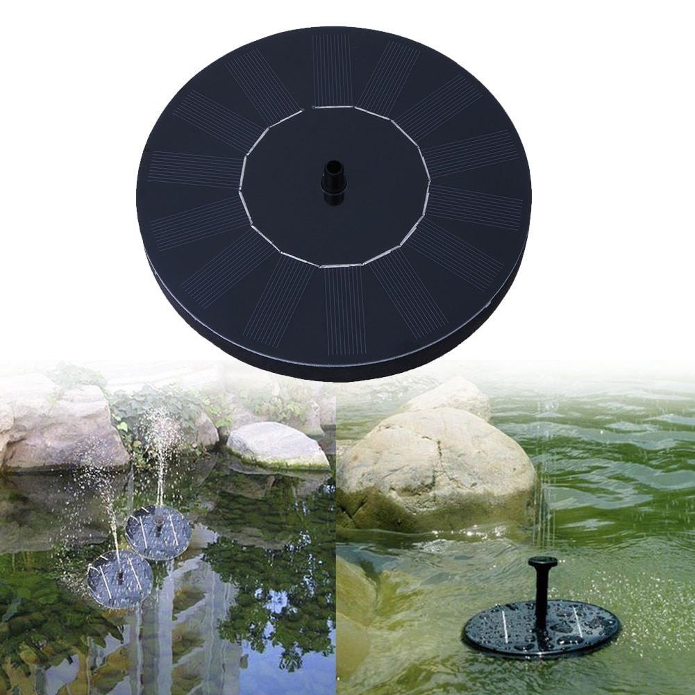 Солнечный фонтан, водяной фонтан, насос для сада, бассейна, водоема, полива, наружная солнечная панель, плавающие насосы для фонтана, садового декора