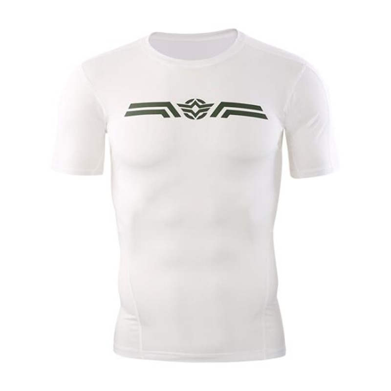 Camisetas deportivas para hombre, camisetas de compresión para senderismo, camiseta de manga corta dryfit, camisetas para gimnasio, Camiseta deportiva para correr