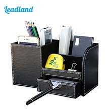 Multi-fonction bureau papeterie organisateur porte-stylo stylos support crayon organisateur pour bureau bureau accessoires fournitures papeterie